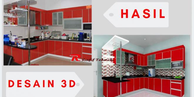 Harga Kitchen Set Aluminium Per Meter 100 Bahan Berkualitas