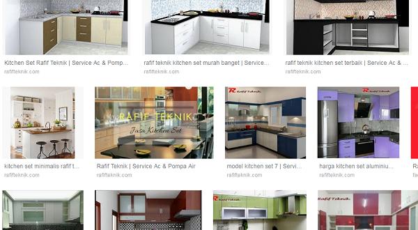 38 Contoh Gambar Kitchen Set Minimalis Modern Bisa Di Lihat Di