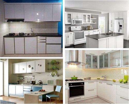 Kitchen Set Aluminium Putih Anti Rayap Service Ac Pompa Air