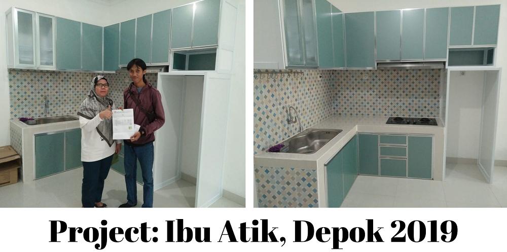 Kitchen Set Aluminium Depok
