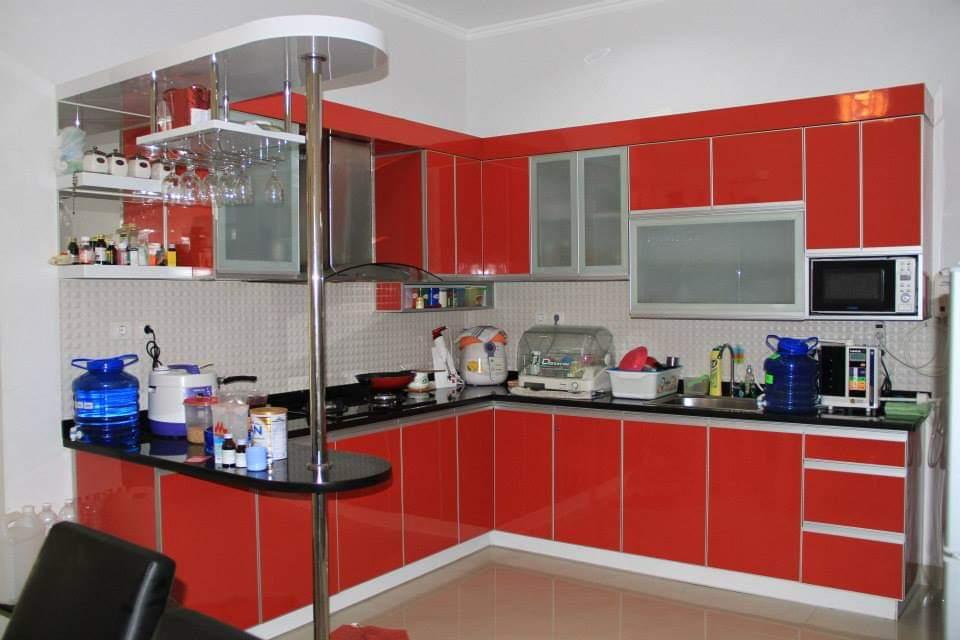 Pembuatan Kitchen Set Dari Bahan Aluminium Rafif Teknik