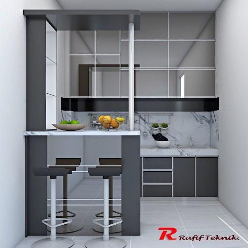 Jasa Pembuatan Kitchen Set Murah Bergaransi Free Survey