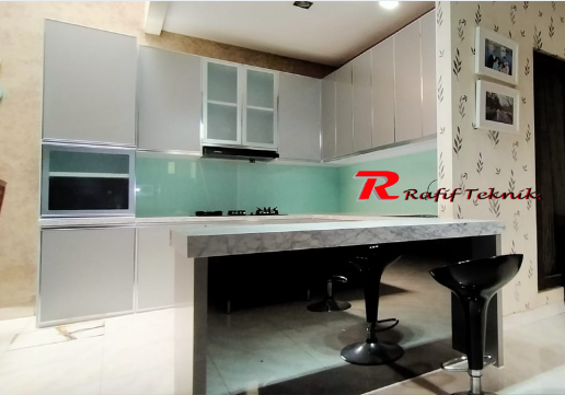 Harga Kitchen Set Aluminium Per Meter Januari 2021 Model Terbaru