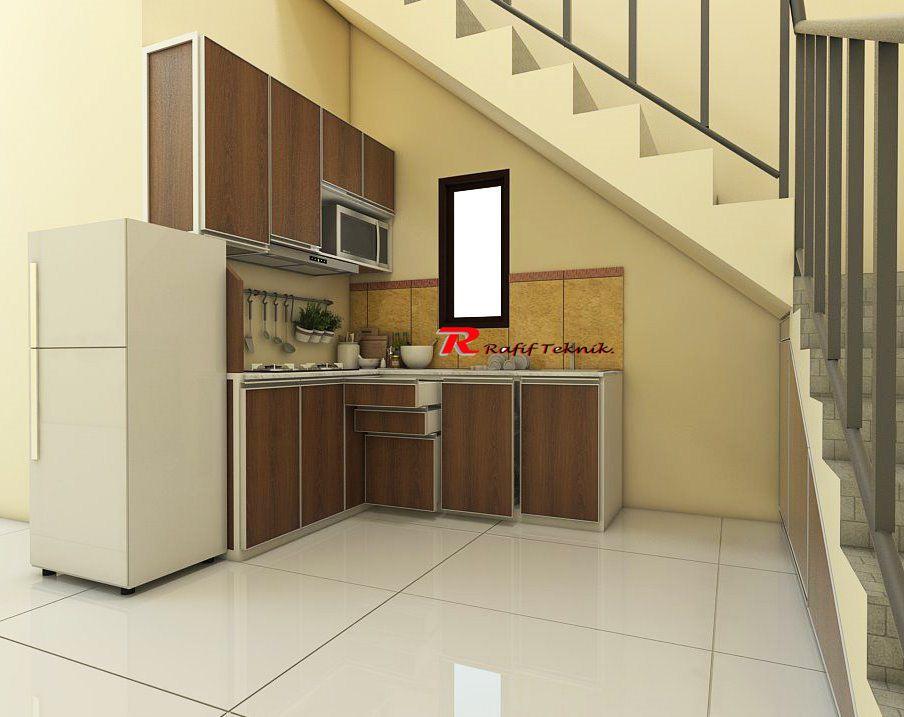 Daftar Harga Kitchen Set Minimalis Per Meter Rafif Teknik